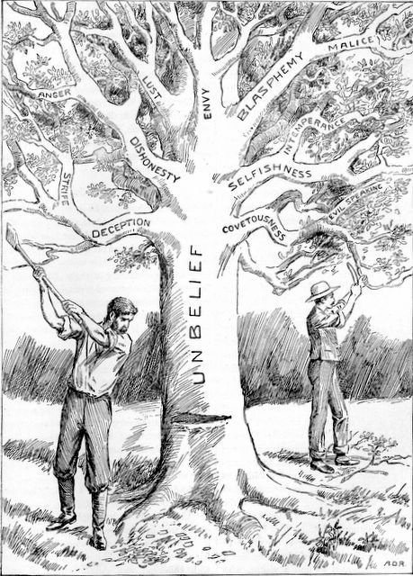 Cutting down the tree of unbelief